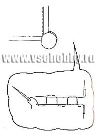 Накидка на вешалку